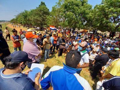 Indígenas reclaman mayor asistencia y exigen dialogar con Mario Abdo