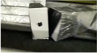 """Cae bus de """"EXPRESO PARAGUAY"""" con contrabando de iPhones por US$ 500 mil en el PUENTE"""