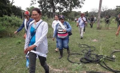 Indígenas vuelven al monte para buscar a Oscar Denis