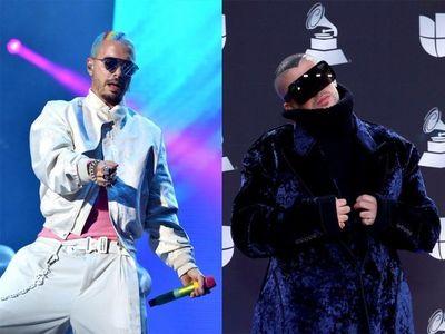 Comienza la revancha del reguetón en los Grammy Latino con J Balvin y Bad Bunny a la cabeza