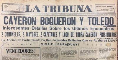 Batalla de Boquerón: La Victoria se debió a la estrategia de José Félix Estigarribia