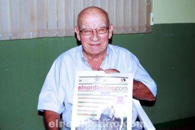 Última entrevista pública a Don Aurelio Ycassatti, un ejemplo de franqueza, sencillez y servicio comunitario