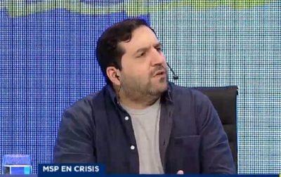 """Tratan de """"empleadito de HC"""" a Julián Crocco en redes"""