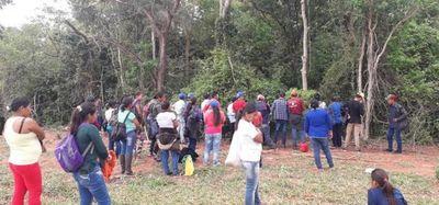 Miembros de Pãi Tavyterã volvieron a ingresar al monte en busca de Oscar Denis