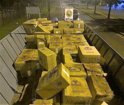 Decomisan 500 cajas de CIGARRILLO con MARCA FALSIFICADA