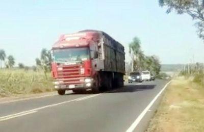Horario limitado para el pesaje de camiones con sobrecarga permite que sigan circulando