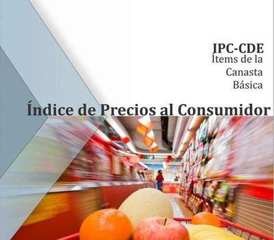 Canasta básica de CDE aumentó 1,02% en setiembre