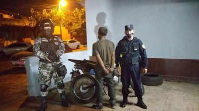 Detenido tras hurtar una motocicleta en el Mercado de Abasto