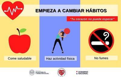 Salud alerta sobre la urgencia de adoptar hábitos saludables para prevenir enfermedades cardiovasculares