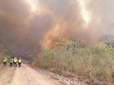 Focos de incendios, sequía y altas temperaturas, el fuego no da tregua en Paraguay