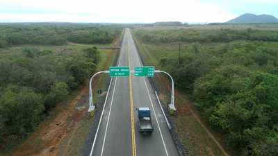 En veinticinco meses, se inauguraron 1.687,83 km de nuevos asfaltados