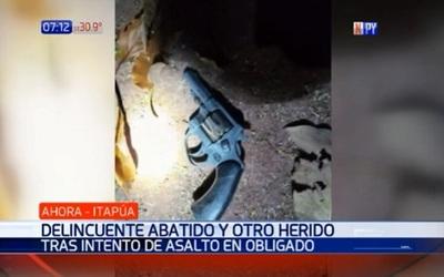 Joven muere baleado por dueño de casa en asalto