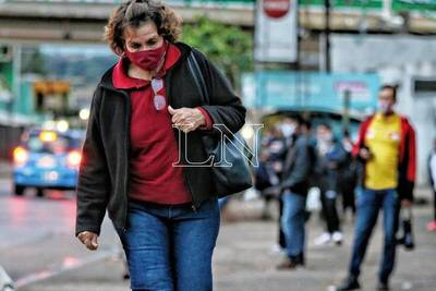 """Borba: """"Desde hace unos 10 días tenemos una suerte de meseta en Asunción y Central"""""""