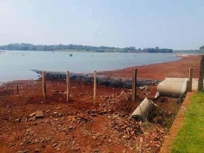Vuelven a intentar ocupar franja del lago Acaray