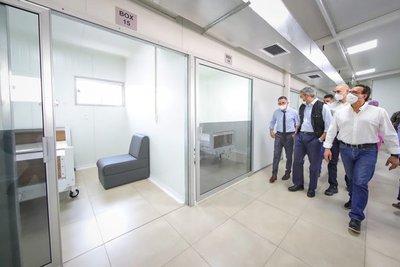 Hospital Acosta Ñu inaugura pabellón de contingencia para casos de Covid-19