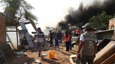 Empresa niega haber generado incendio en Cateura
