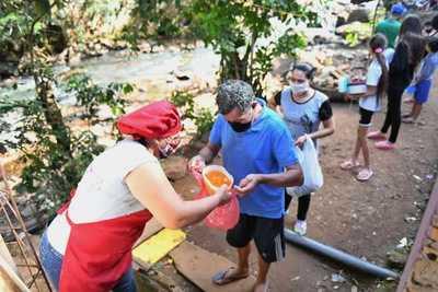 Más de 15.000 kits distribuyó ITAIPU a 1.353 ollas populares que proveen almuerzo en Alto Paraná