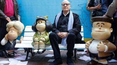 """Quino, el creador de """"Mafalda"""", muere a los 88 años"""