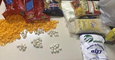 La Nación / Incautan supuesta cocaína en penitenciaría Padre Juan Antonio