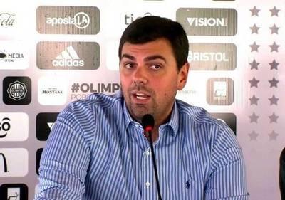 Trovato pide permiso como presidente del Olimpia para dedicarse a su defensa