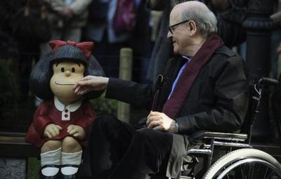 Muere Quino, el padre de Mafalda