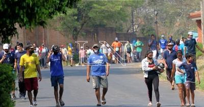 La Nación / Gancheros de Cateura reclaman asistencia tras incendio