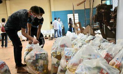 Se distribuyeron más de 15.000 kits a 1.353 ollas populares en Alto Paraná