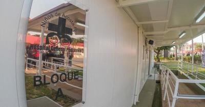 Pabellón de contingencia fue inaugurado en el Hospital Acosta Ñu