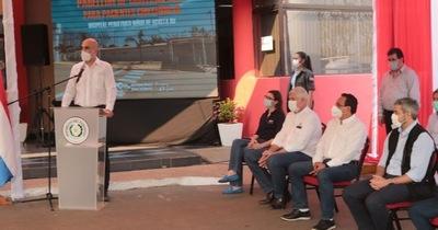COVID-19: inauguran pabellón de contingencia en Acosta Ñu