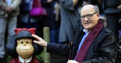 La Nación / Quino, el taciturno dibujante que eternizó a Mafalda