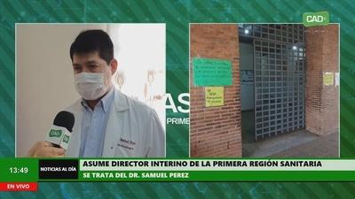 Asume director interino de la Primera Región Sanitaria