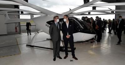 La Nación / París comenzará pruebas con taxis voladores en 2021