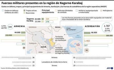 Conflicto en Nagorno Karabaj se agravaría con mercenarios sirios