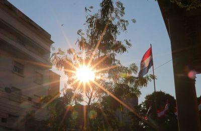 Récord de calor en Paraguay: 45,5 ºC
