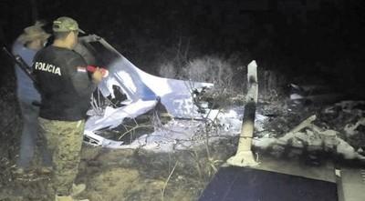 Hallan en estancia del Chaco avioneta calcinada y cuerpo en estado de descomposición