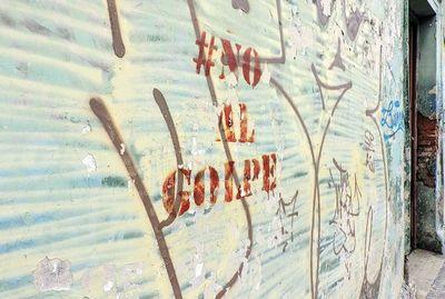 """""""Asunción Dice"""", un diálogo con los muros de la ciudad"""