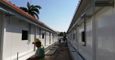 La Nación / Hospital de Limpio contará con más camas mediante pabellones de contingencia