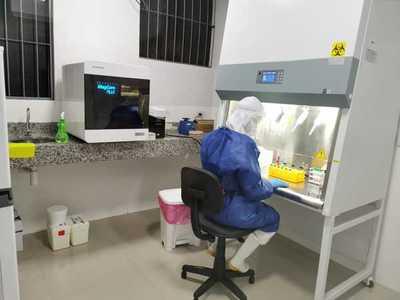Laboratorio de Biología Molecular llega a cuatro mil muestras y suma más equipos
