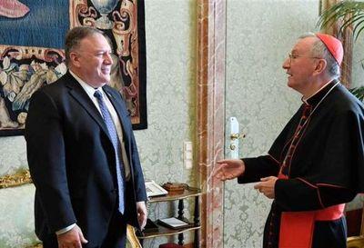 Pompeo recibido en el Vaticano en un clima cordial y de respeto