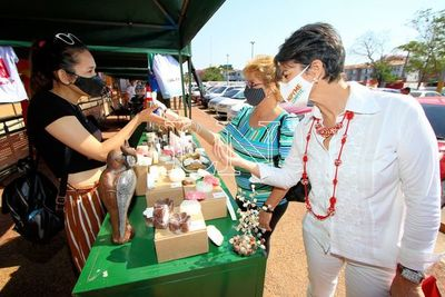 Feria Mipymes Capasu llega hasta Areguá este fin de semana