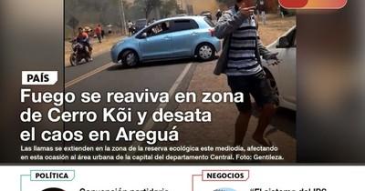 La Nación / LN PM: Las noticias más relevantes de la siesta del 1 de octubre