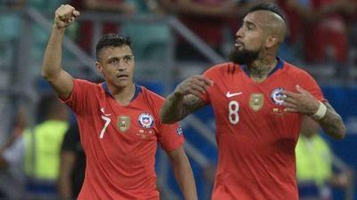 Sánchez y Vidal encabezan nómina de Chile