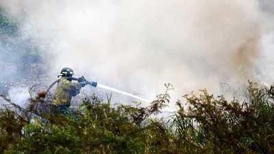Se multiplican los incendios en todo el país