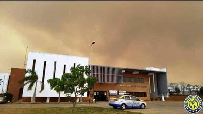 Incendios: Densa humareda opaca al sol y ocasiona insalubridad •