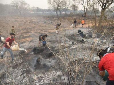 Paraguay arde: Incendios, altas temperaturas, cortes de luz y agua