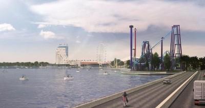 La Nación / Vimérica presentó el proyecto del puente y un gran centro turístico