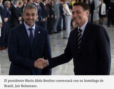 Apertura de puente: Mario Abdo hablaría con Bolsonaro esta tarde