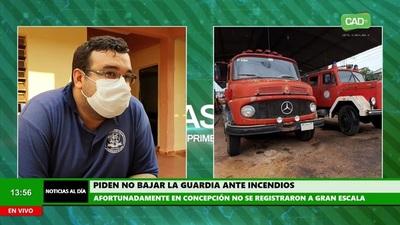 Concepción: De momento no se registran incendios a gran escala