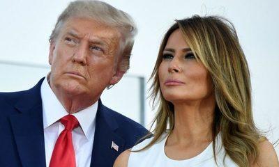 Donald Trump y su esposa dieron positivo a la prueba de covid-19