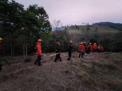 Varios focos de incendio en Guairá